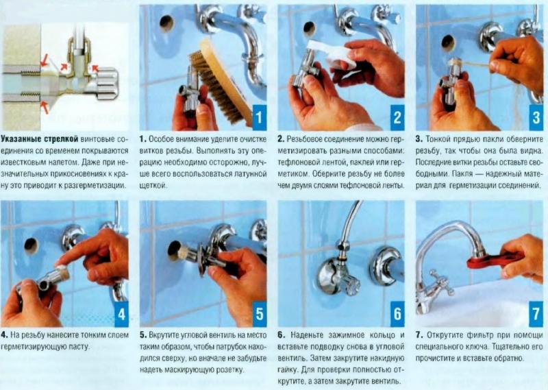 Как устанавливается сифон на раковину или мойку