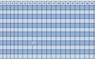 Женский календарь месячных распечатать