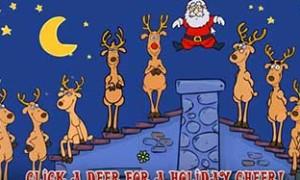 Поющие олени и Санта