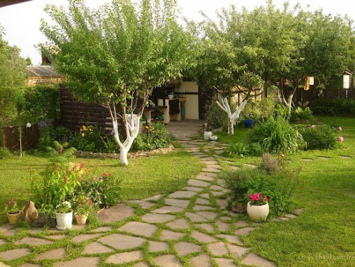 Ландшафтный дизайн. Оформление сада в смешанном стиле